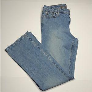 Arizona Jean Company boot cut jeans.